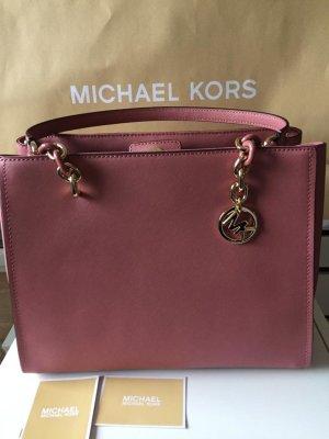 Michael Kors Handtas goud-rosé Leer