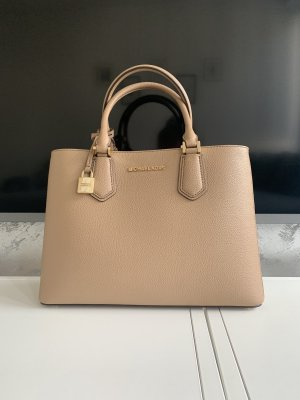 Michael Kors Sac à main beige-rose chair cuir