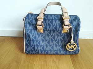 Michael Kors Carry Bag steel blue leather