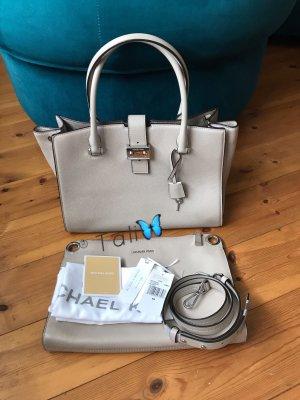 Michael Kors Tasche Build a Bond Large LG  Farbe: Cement Grau Silber