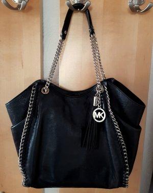 Michael Kors Tasche Chelsea LG TZ Shoulder Black Schultertasche NP 374€