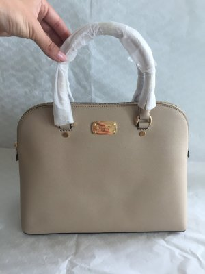 Michael Kors Tasche Cindy LG Dome Satchel Bisque beige NEU