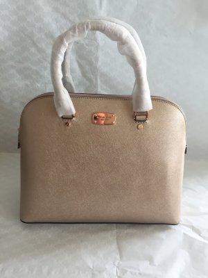 Michael Kors Tasche Cindy LG Dome Satchel Rose Gold rosa NEU