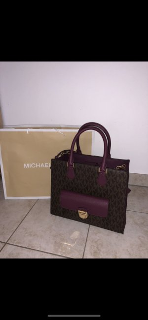 Michael Kors Carry Bag light brown-purple