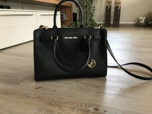 Michael Kors Carry Bag black-gold-colored