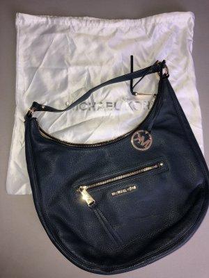 Michael Kors Carry Bag dark blue-gold-colored