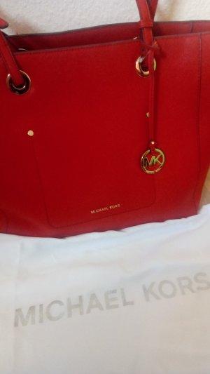 Michael Kors Comprador rojo oscuro