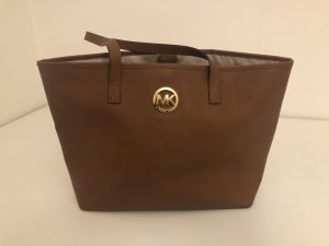 Michael Kors Shopper bronze-colored-brown leather