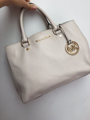 Michael Kors Carry Bag white-gold-colored