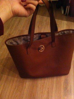 Michael Kors Handbag cognac-coloured leather