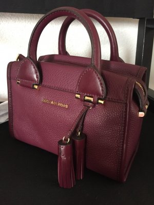 Michael Kors Satchel purple leather