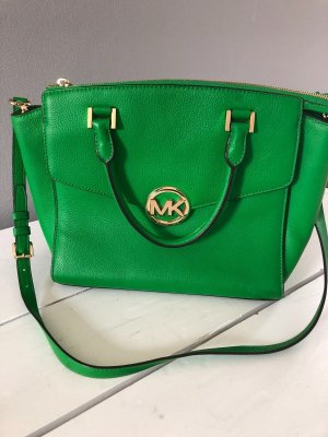 Michael Kors Carry Bag green-forest green leather