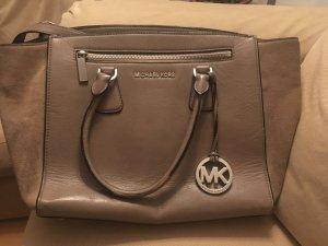Michael Kors Borsa con manico marrone-grigio-beige Pelle