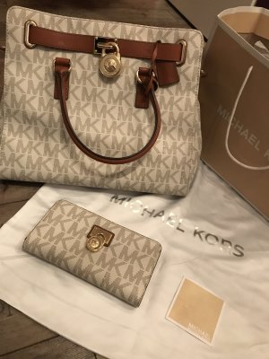 Michael Kors Carry Bag white-beige
