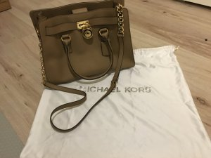 Michael Kors Carry Bag beige leather