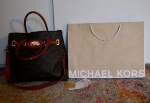 Michael Kors Tasche Hamilton Braun