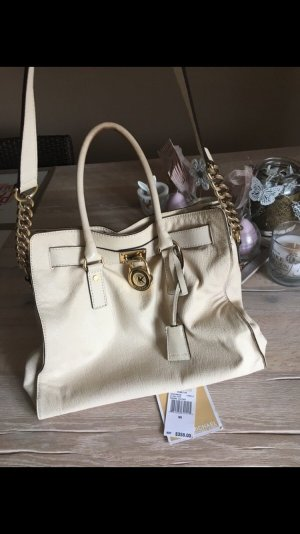 Michael Kors Carry Bag cream-pale yellow leather