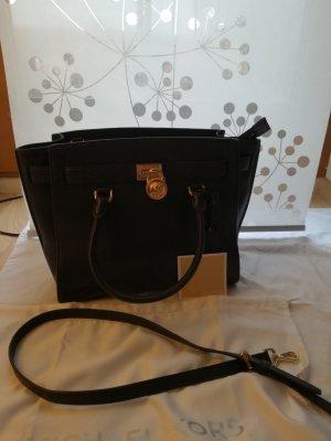 Michael Kors Handbag dark blue-blue leather