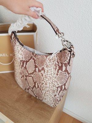 Michael Kors Handbag silver-colored-brown leather