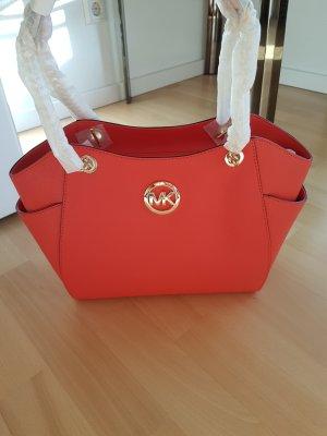 Michael Kors Tasche Handtasche Jet Set Travel LG Chain Sienna