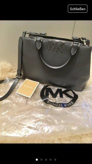 Michael kors Tasche Handtasche neu grau Silber shopper florence heather grey
