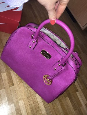 Michael Kors Carry Bag raspberry-red leather