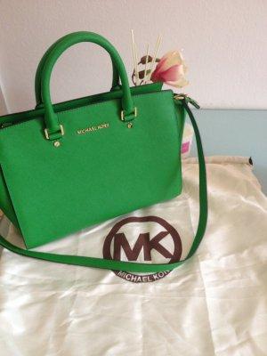 Michael Kors Tasche in Grün/ Sehr sehr guter Zustand