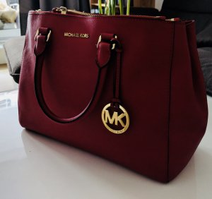 Michael Kors Tasche in knalligem Rot - Business
