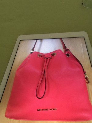 Michael Kors Pouch Bag bright red leather