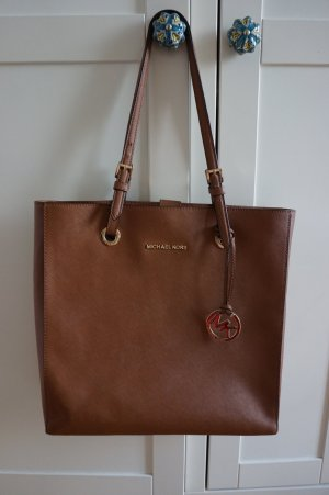 Michael Kors Tasche Jet Set Original Braun cognac Shopper
