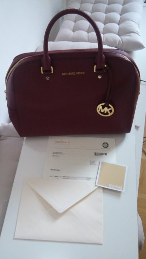 Michael Kors Tasche Jet Set Travel LG Satchel Claret – NEU