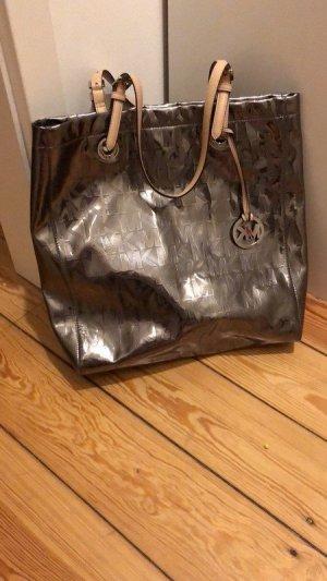 Michael Kors Shoulder Bag silver-colored-beige