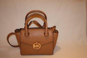 Michael Kors Sac à main brun sable cuir