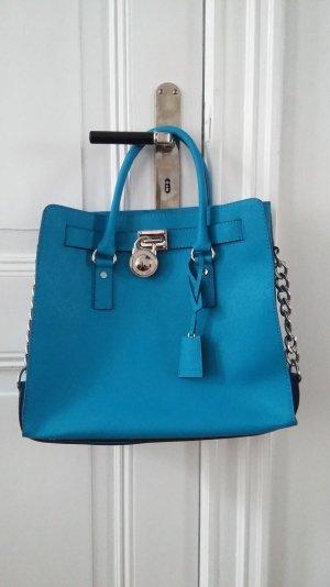 Michael Kors Tasche Modell Hamilton blau