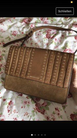 Michael Kors Crossbody bag brown suede