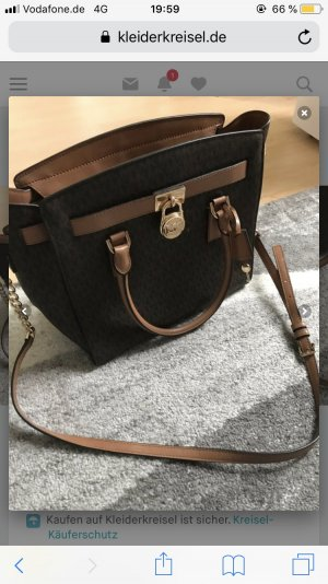 Michael Kors Carry Bag brown-sand brown leather