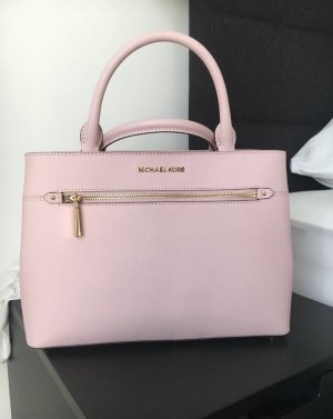 Michael Kors Borsa con manico rosa chiaro