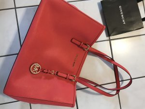 Michael Kors Handbag bright red-salmon