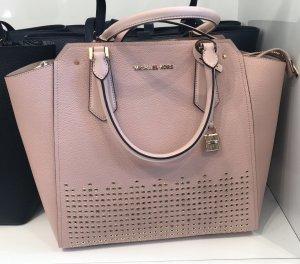 Michael Kors Tasche neu Shopper Handtasche Rose Umhängetasche mit Etikett mk leder ledertasche
