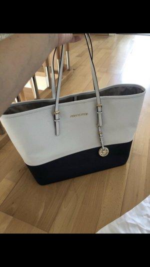 Michael Kors Handbag white-dark blue
