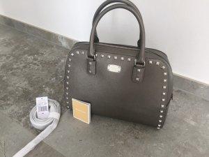 Michael Kors Tasche Sandarine Stud Nickel echtes Leder NEU mit Etikett