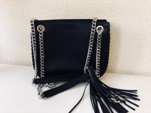 Michael Kors Tasche schultertasche schwarz bucket Umhängetasche kette crossbody Chelsea messenger bag whipped