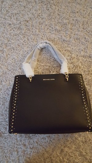 Michael Kors Shopper black-gold-colored