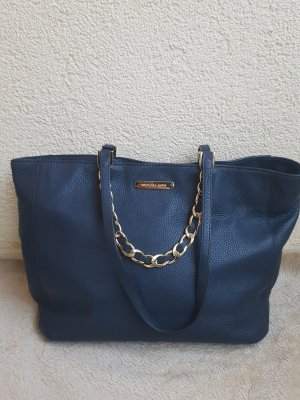 Michael Kors Handbag gold-colored-dark blue