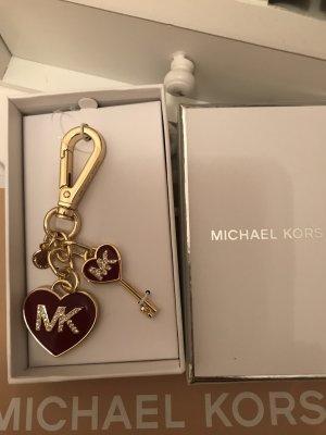 Michael Kors Sleutelhanger framboosrood-goud