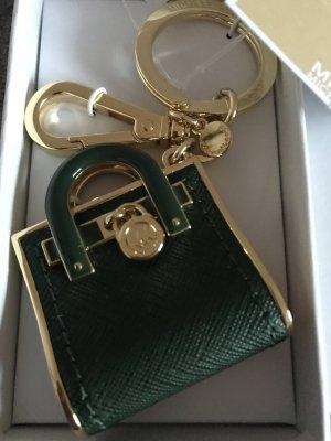 Michael Kors Key Chain dark green