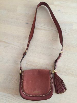 Michael Kors Tasche/Umhängetasche Brooklyn Medium Saddle Suede Crossbody