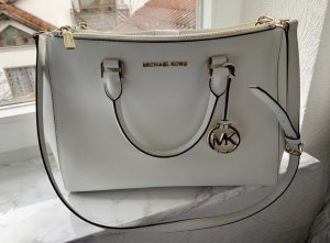 Michael Kors Crossbody bag white-gold-colored