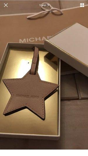 Michael Kors Taschenanhänger in Leder als Stern neu
