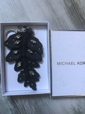 Michael Kors Taschenanhänger /Schlüsselanhänger Neu Leder schwarz
